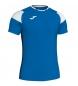 Camiseta Crew III azul, blanco