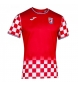 Camiseta Fed.Bal.Croacia rojo