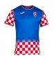 Camiseta Croatia Handball azul