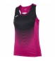 Compar Joma  ELITE VI T-SHIRT PINK-BLACK WOMAN