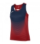 Compar Joma  T-SHIRT DAS MULHERES DE RED-MARINO DO T-SHIRT DA ELITE VI