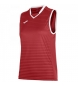 Compar Joma  T-SHIRT GALAXY RED SLEEVELESS WOMAN
