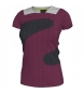 T-SHIRT MAGENTA-ANTHRACITE-GREY  WOMAN