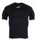 Camiseta de protección Rugby negro m/c