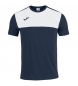 Compar Joma  Camiseta Winner Cotton marino, blanco