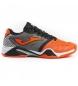 Zapatillas de tennis T.pro roland 908 naranja-negro clay