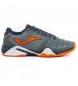 Zapatillas de tenis T.pro roland 912 gris-naranja clay