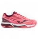 Zapatillas de tenis T.set lady 910 rosa clay