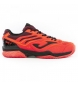 Zapatillas de tenis T.set men 908 naranja clay
