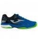 Zapatillas de tenis/padel Slam azul, negro -Clay-