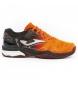 Zapatillas de tenis/padel Slam naranja, negro -Clay-