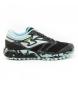 Zapatillas TK. Sierra Lady 2001 negro, turquesa