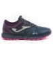 Zapatillas trail running Sima Lady lila, gris / 237g
