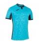Camiseta ToletumII turquesa fluor, negro