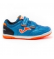 Zapatillas Top Flex Jr 2004 Velcro naranja, azul