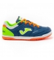 Comprar Joma  Leather Top Flex shoes JR 2033 Petroleum Laces blue