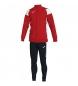 Compar Joma  Crew III tracksuit red, white