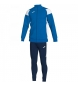 Compar Joma  Crew III tracksuit blue, white