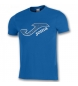 Compar Joma  CAMISETA COMBI COTTON LOGO ROYAL M/C