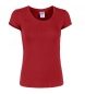 Comprar Joma  TEE SHIRT RED VERONA S / S WOMAN