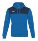 Compar Joma  Gagnant du sweatshirt à capuche bleu, marine