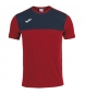 Compar Joma  T-shirt gagnant, marine, rouge