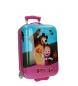 Maleta de cabina rígida Masha y el Oso Candy Friends 50 cm rosa