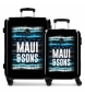 Juego de maletas rígidas 55-69cm Waves -36x55x20cm / 46x69x26cm-