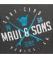 Comprar Maui and Sons Backpack + school case Shaka grey -32x42x16cm