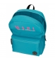 Comprar Maui and Sons Backpack with trolley + school bag Hawaii turquoise -30x40x13cm