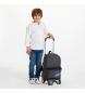 Comprar Maui and Sons Mochila com carrinho + mochila cinzenta para escola Shaka -32x42x16cm