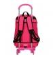 Comprar Maui and Sons Backpack with trolley + school box Hawaiian fuchsia -33x44x13.5cm