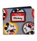 Cartera Mickey Circles multicolor -10,5x9x2cm-