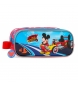 Comprar Mickey Mickey Case duplo compartimento permite rolar Mickey -23x9x7x7cm