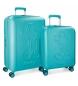Compar Mickey Conjunto de malas Mickey Premium rígidas 55-68cm verde