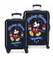 Comprar Mickey Ensemble de bagages rigide Mickey 34 L / 70L Celui en bleu -38x55x20x20 / 48x68x26cm