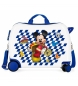 Maleta correpasillos 2 ruedas multidireccionales Mickey Good Mood -39x50x20cm-