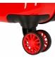 Comprar Mickey Maleta de cabina Mickey letras rígida 55cm roja 34L / -38x55x20cm-