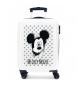 Maleta de cabina Mickey Mouse rígida 55cm azul 34L / -38x55x20cm-