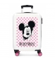 Maleta de cabina Mickey Mouse rígida 55cm rosa 34L / -38x55x20cm-