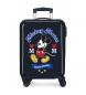 Maleta de cabina Mickey rígida 55cm The One azul 34L / -38x55x20cm-