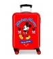 Maleta de cabina Mickey rígida 55cm The One roja 34L / -38x55x20cm-