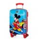 Maleta de cabina rígida Lets Roll Mickey -34x66x10cm-