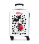 Maleta de cabina rígida Mickey Enjoy the Day Dots -36x55x20cm-