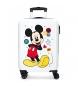 Maleta de cabina rígida Mickey Enjoy the Day Oh Boy -36x55x20cm-