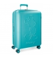 Compar Mickey Large suitcase Mickey Premium rigid 68cm green