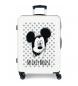 Maleta mediana Mickey Mouse rígida 68cm azul 70L / -48x68x26cm-