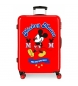 Maleta mediana Mickey rígida 68cm The one roja 70L / -48x68x26cm-