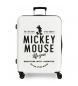 Comprar Mickey Valise de taille moyenne Style héros rigide -70x48x26cm