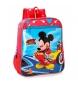 Mochila 28cm adaptable a carro Lets Roll Mickey -23x28x10cm-